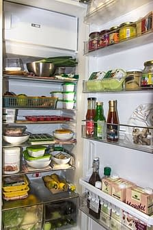 interior refrigerador