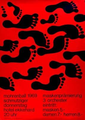 Poster suizo de 1969
