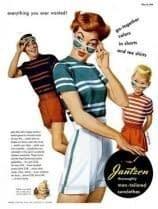1950 Anuncio de gafas de sol