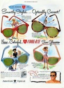 1920 Gafas de colores