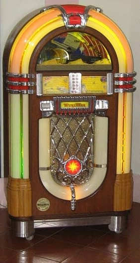 Jukebox Wurlitzer 1015