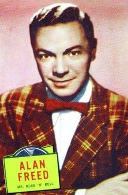 Locutor Alan Freed, 1957