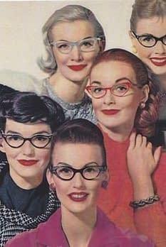 1950 Gafas de colores eye-cat