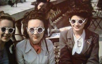 """Año 1942 Gafas """"Ojo de insecto"""""""
