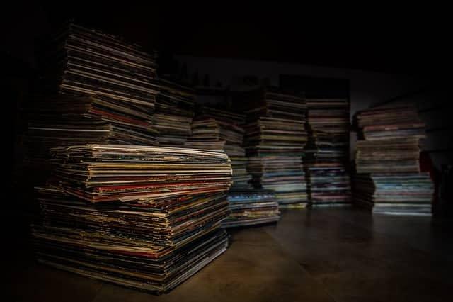 colección de vinilos