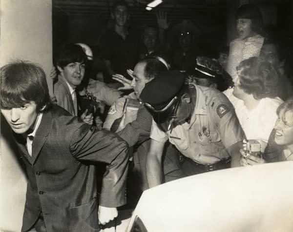 The Beatles en el Hotel George Washington, septiembre 1964
