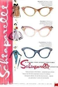 1950 Gafas Schiaparelli