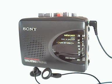 Walkman Sony Modelo WM-GX302