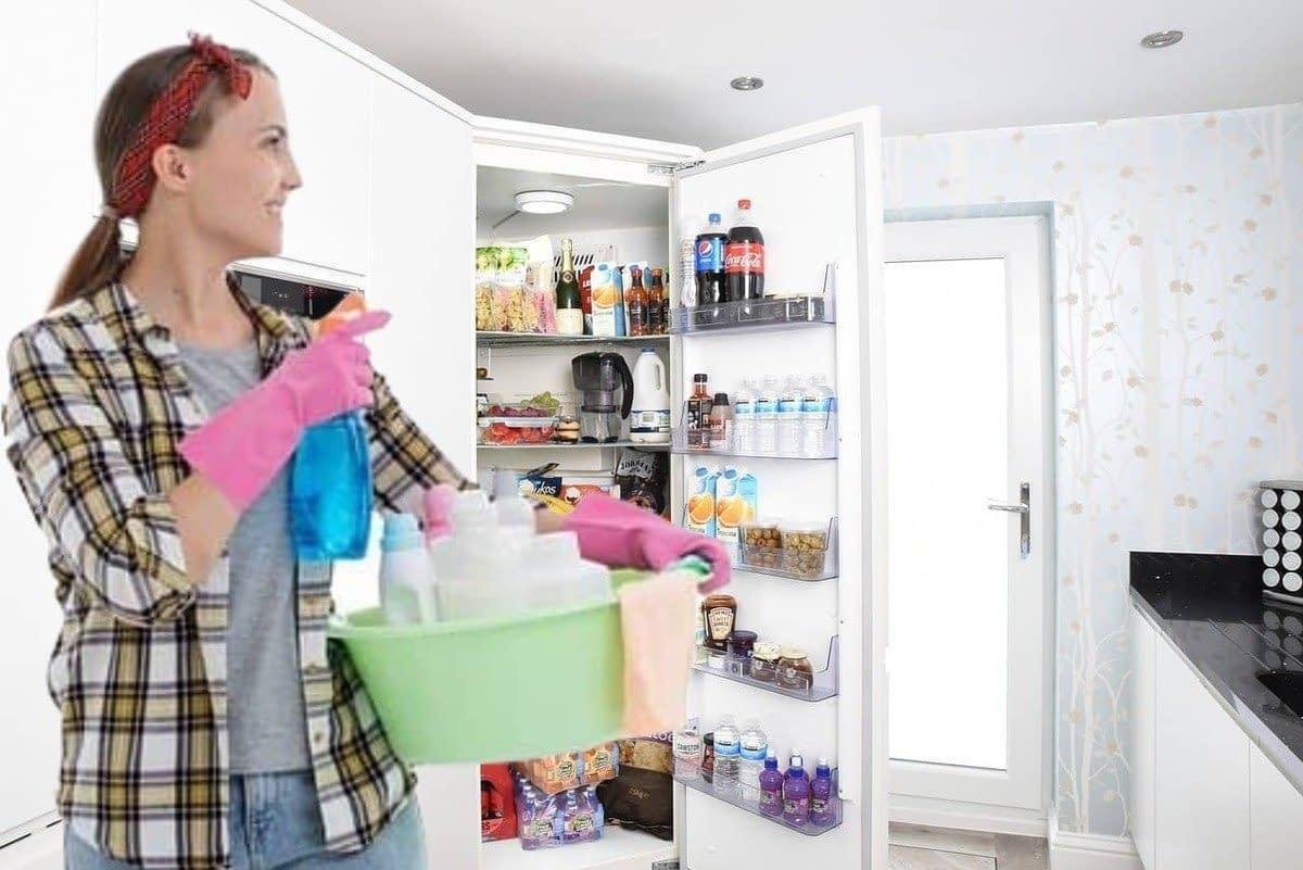 ¿Cómo limpiar la nevera por dentro y por fuera?