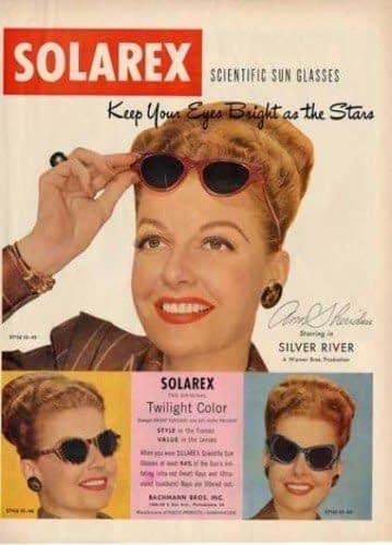 Gafas de sol de 1948