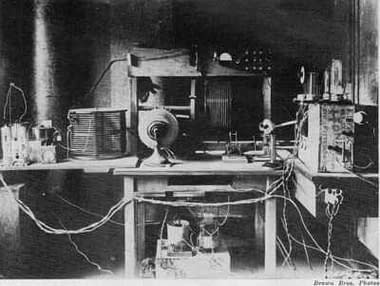 Estación de radio de Frank Conrad 1920